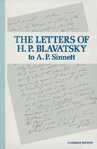 The Letters of H.P. Blavatsky to A. P. Sinnett
