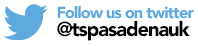 Follow us on twitter @tspasadenauk